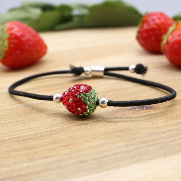 11 Stretcharmband Erdbeere EB0404-01335-00 5,95