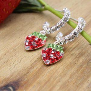 16 Creole Herz hängend Paar Erdbeere EB0204-00235-00 6,35,-